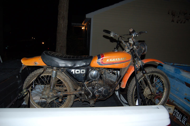 1974 Kawasaki G5 100 Motorcycle Forumsrhkawasakimotorcycleorg: Kawasaki G5 100 Wiring Diagram At Gmaili.net